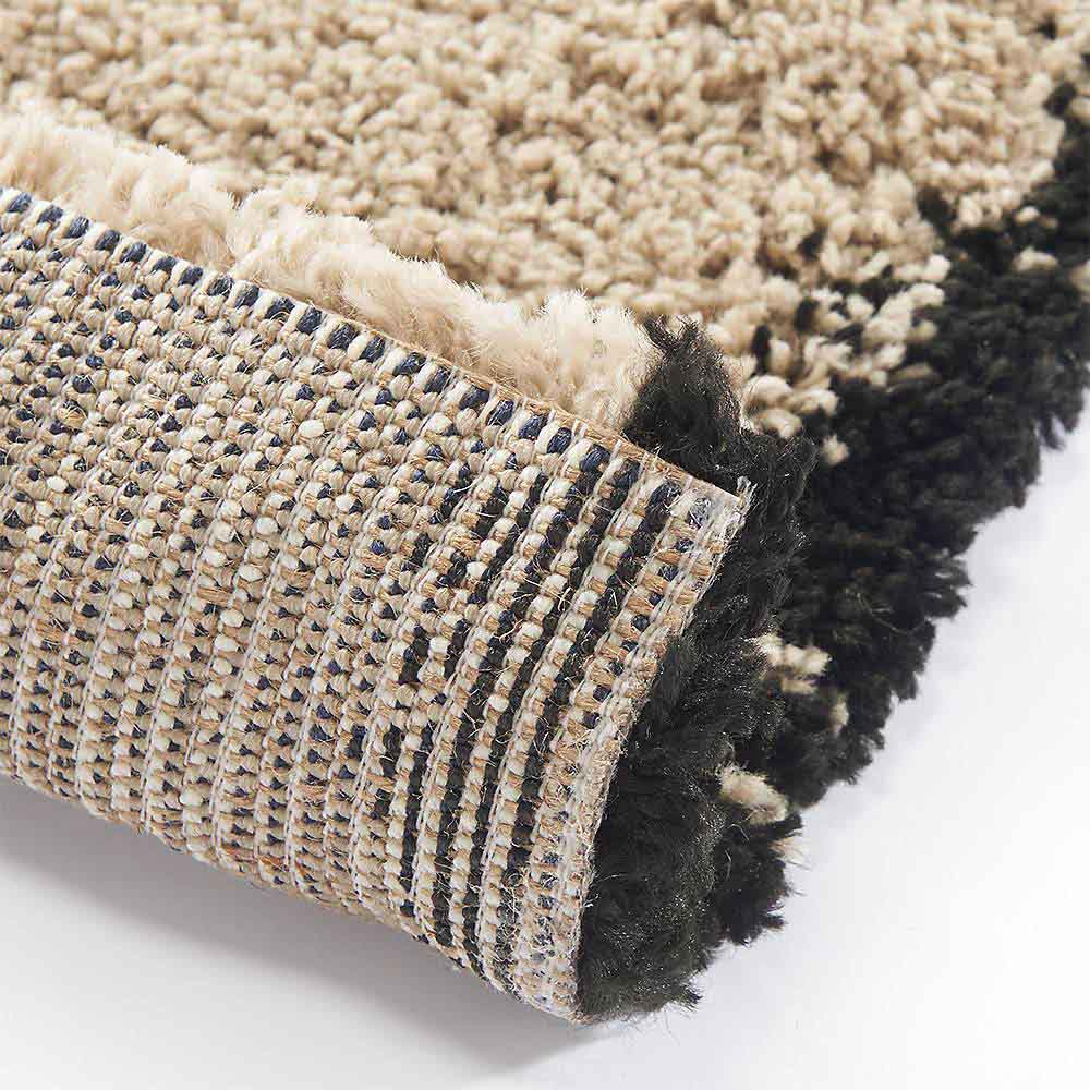 ベルギー製ウィルトン織りラグ〈アニュラ〉  裏面