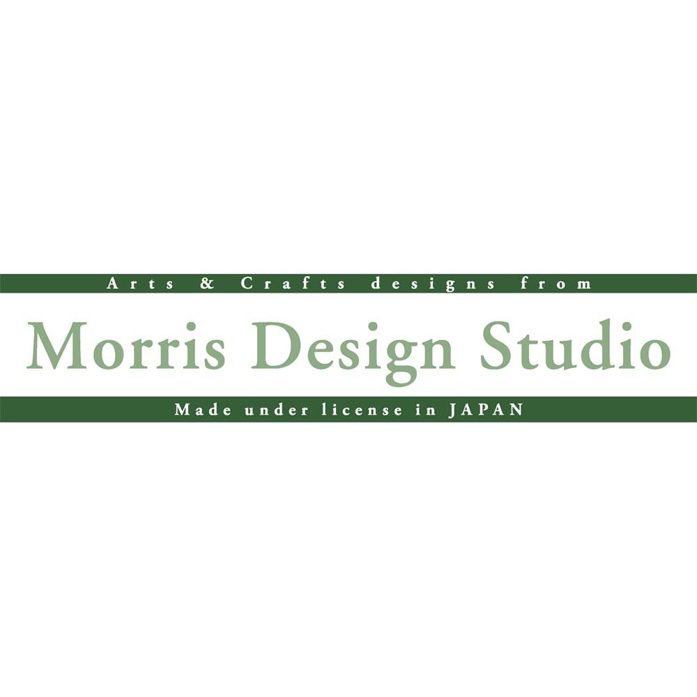 ベルギー製モリス ゴブラン織マット〈ピンク&ローズ〉