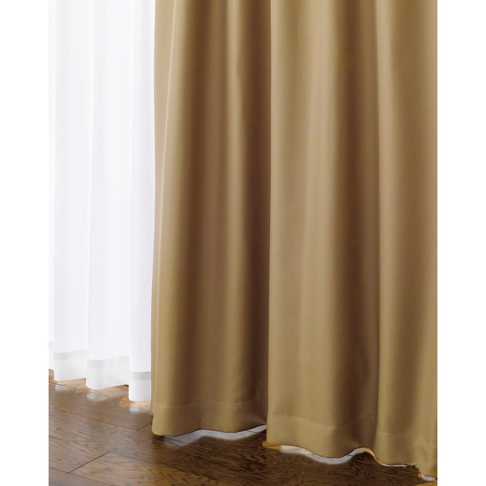 幅100×丈110cm(2枚組)(防音・1級遮光・遮熱カーテン) 760903