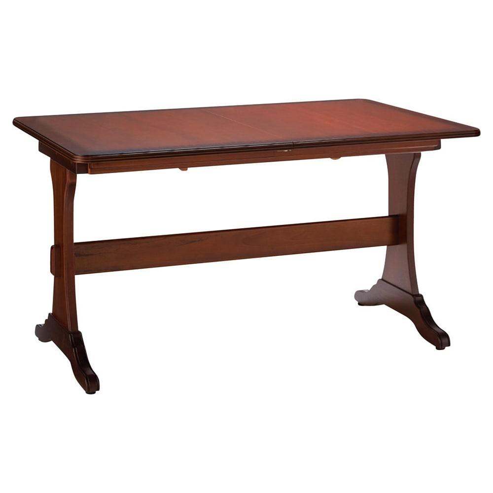 ベネチア調象がんシリーズ 伸長式ダイニングテーブル (通常時)
