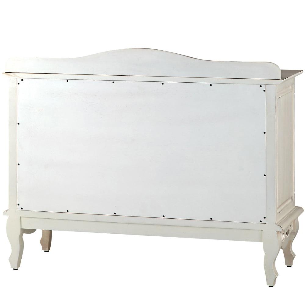 アンティーク調クラシック家具シリーズキャビネット・幅110cm 背面