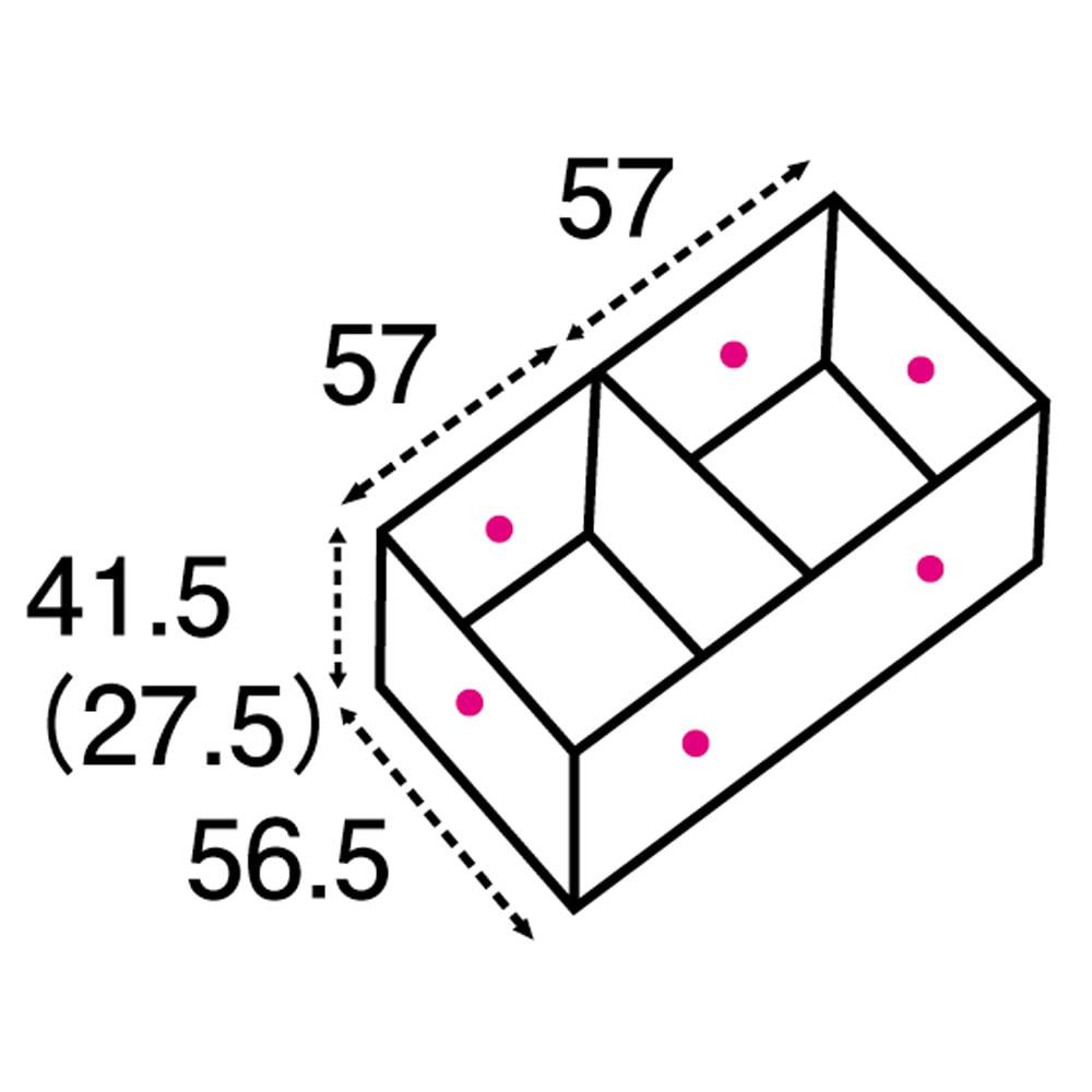 ユニット畳シリーズ 1畳 高さ31cm 矢印は有効内寸になります。( )内の数字は高さ31cmタイプになります。