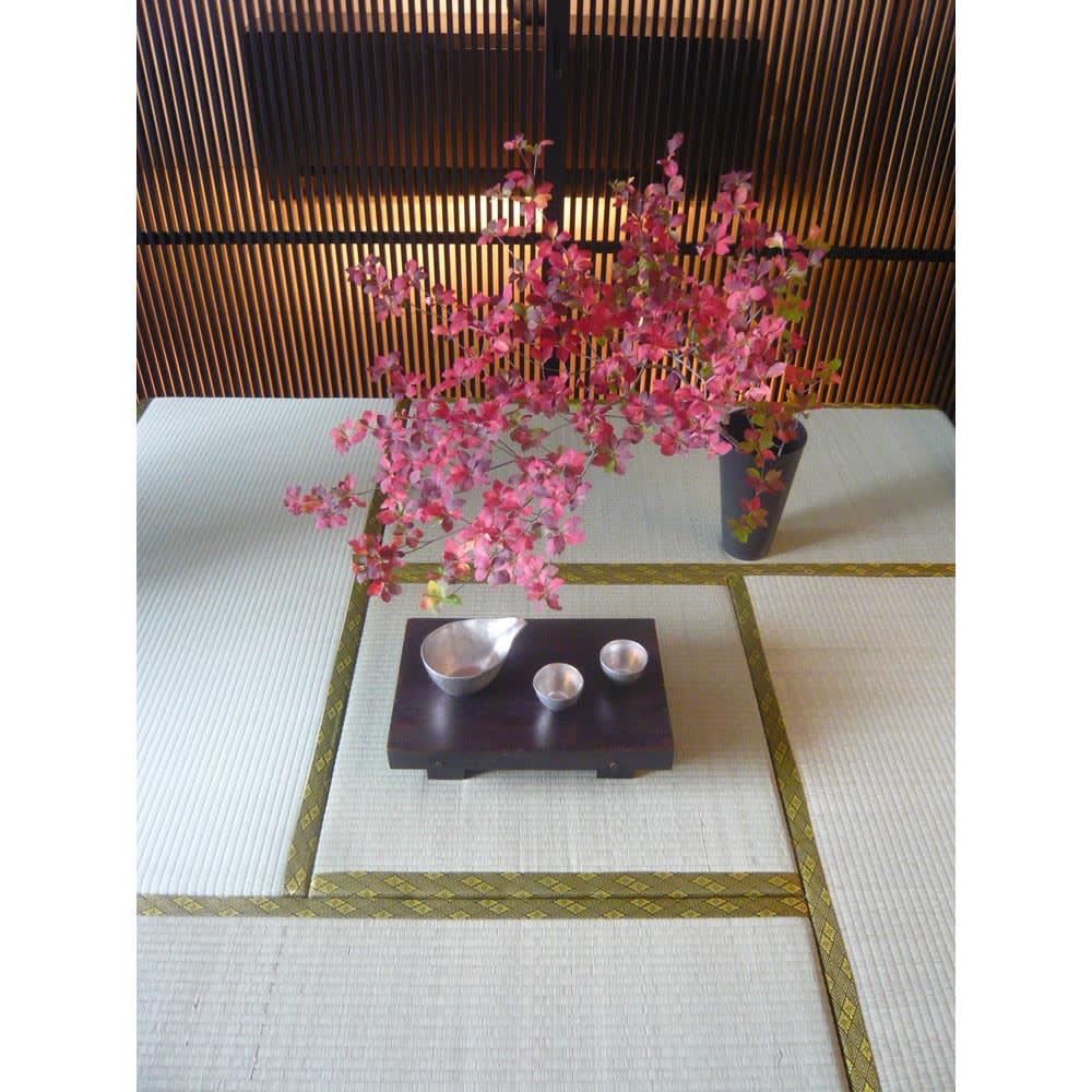 ユニット畳シリーズ 半畳 高さ45cm 洋室に気軽に和の空間を演出できます。