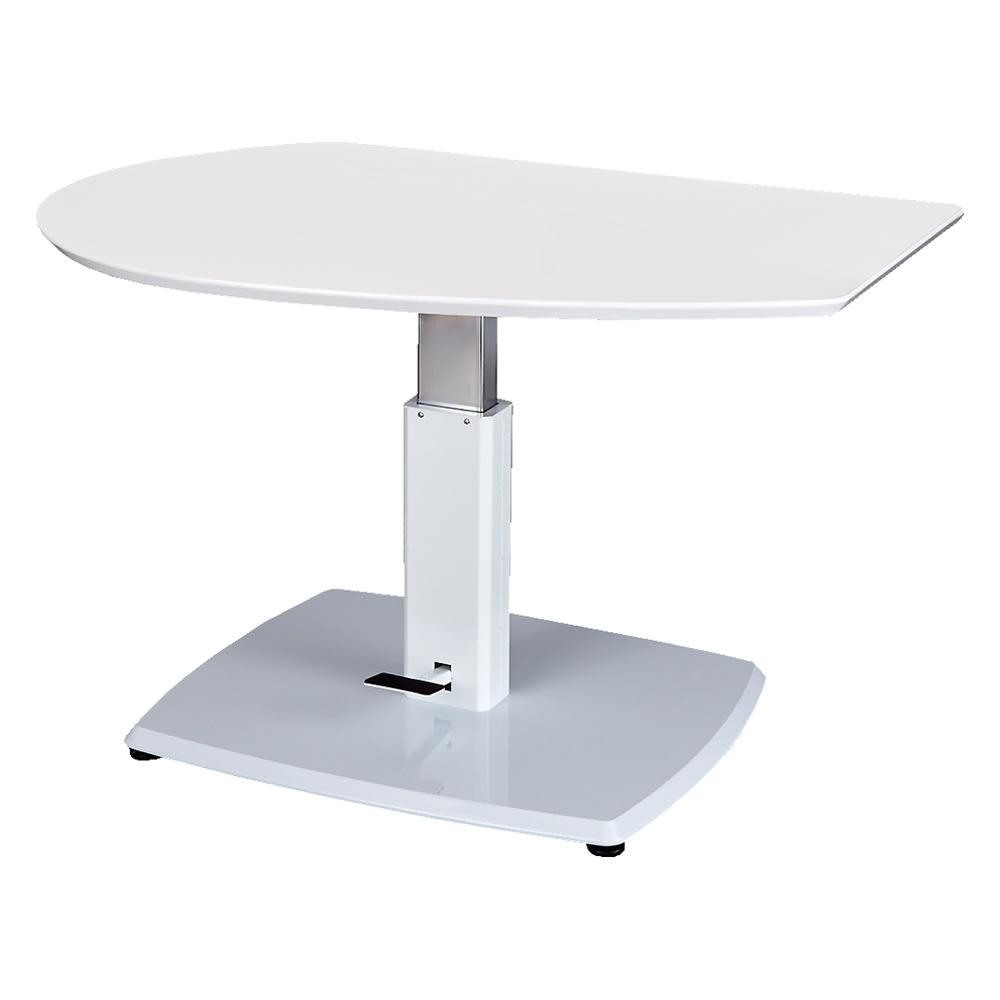 コミュニケーション昇降式テーブル (ア)ホワイト