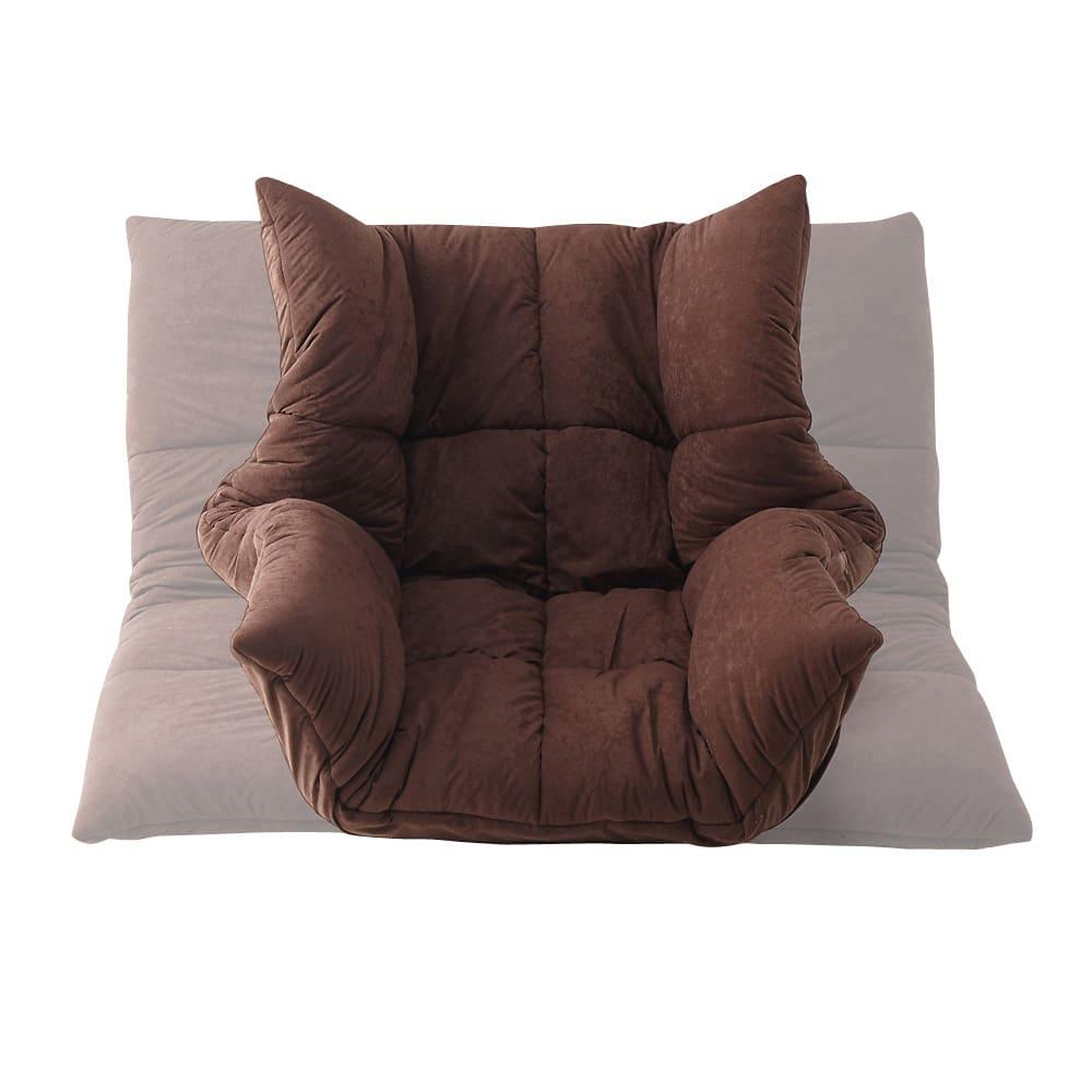 マルチリクライニング コンパクトソファ(座椅子) ハイバックタイプ 肘部のリクライニングを調整すれば座椅子からソファーまでお好みの仕様に。来客時や気分に合わせて変えてみては!?