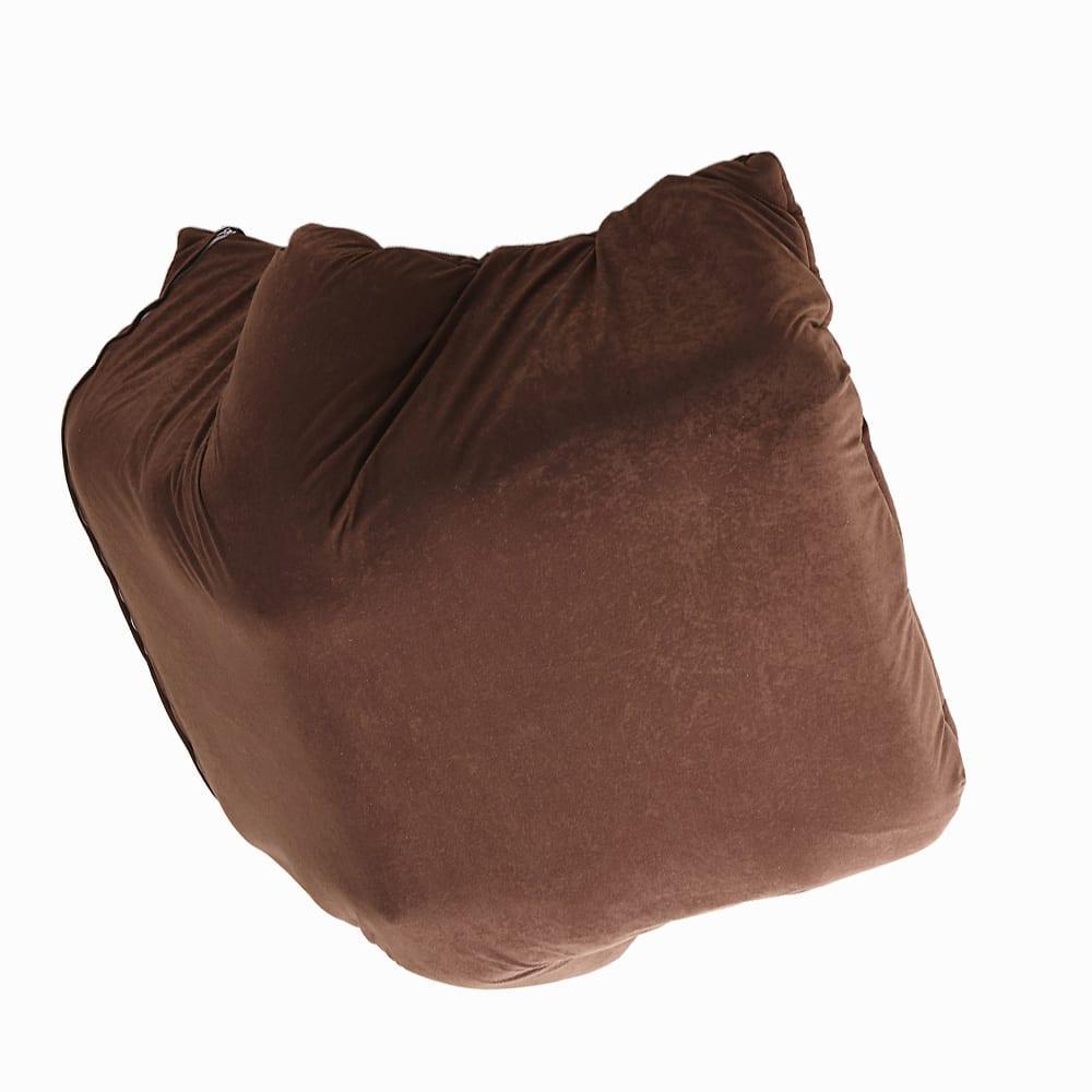 マルチリクライニング コンパクトソファ(座椅子) ハイバックタイプ 床接地面まで表面と同じ張地を使用しています。