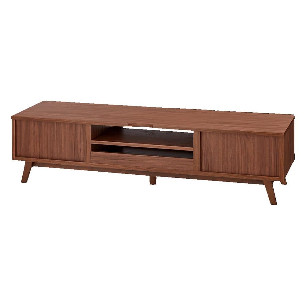 天然木格子 リビングボードシリーズ テレビ台 幅150cm 背面