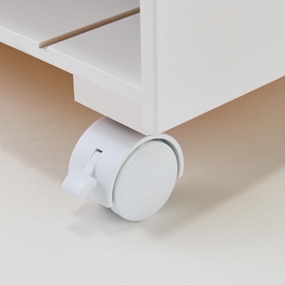 [国産] クローゼットで使えるランドセルラック キャスターはストッパー(2個)付きで安心。