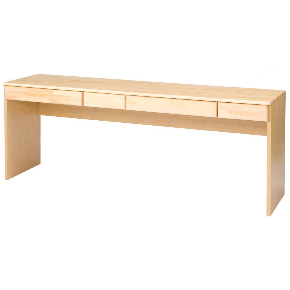 パイン天然木 薄型シンプルデスクシリーズ デスク 幅180cm 763511