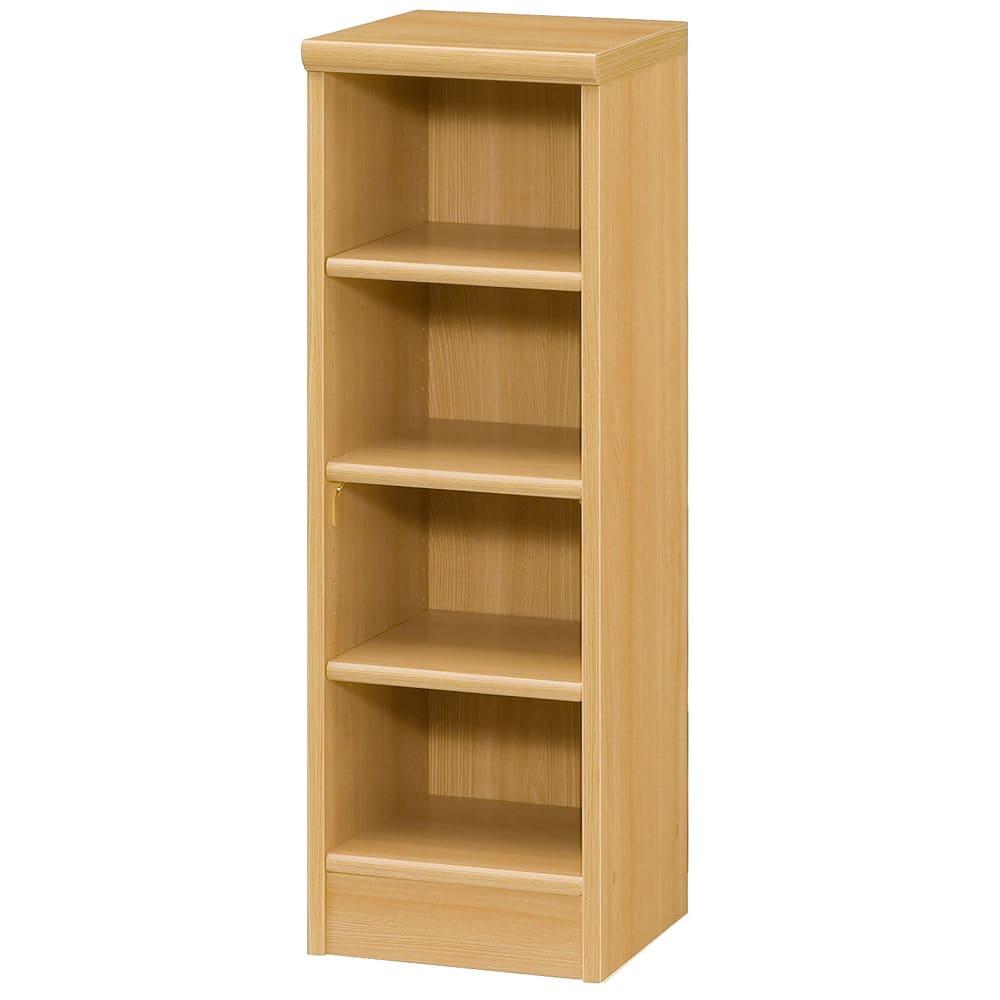 色とサイズが選べるオープン本棚 幅28.5cm高さ88.5cm (オ)ナチュラル