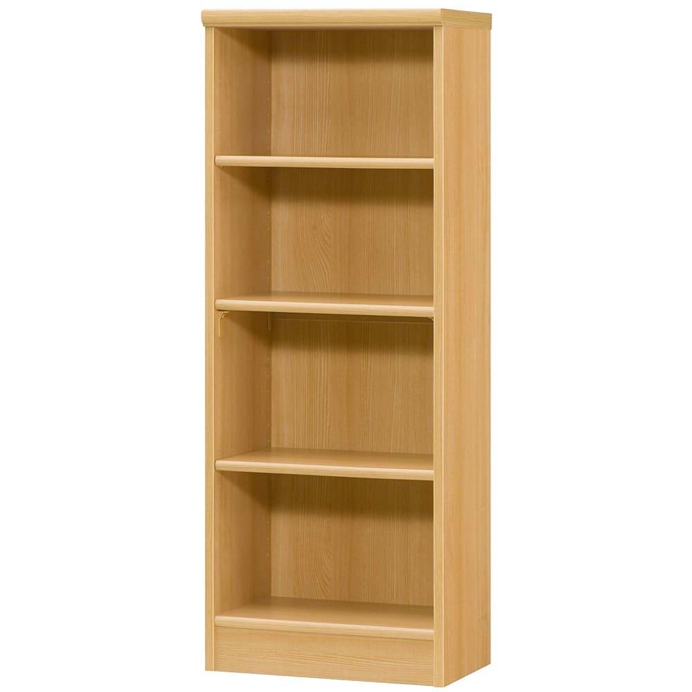 色とサイズが選べるオープン本棚 幅44.5cm高さ117cm (オ)ナチュラル