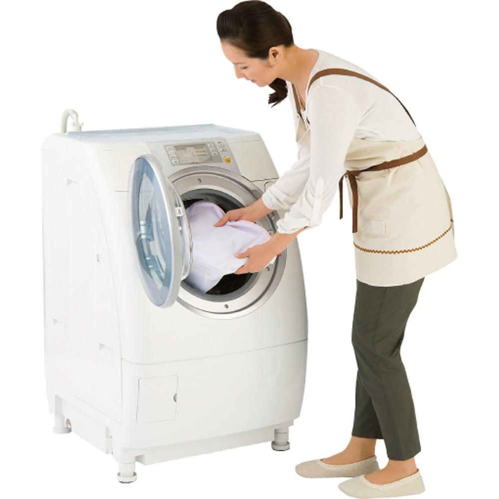 ジーパンもOK!頑丈スラックスハンガー 洗えるカバー付き・15本掛け カバーは洗濯機で洗えます。