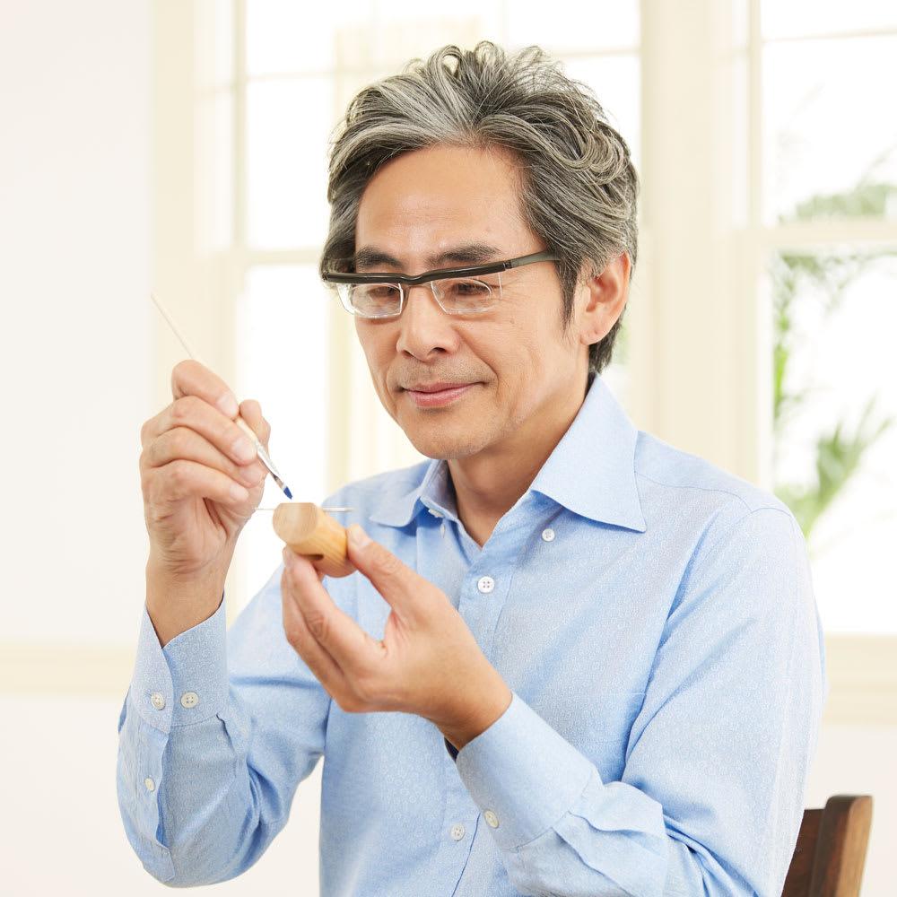 遠・近・老眼対応 自分で度数調整できるメガネ