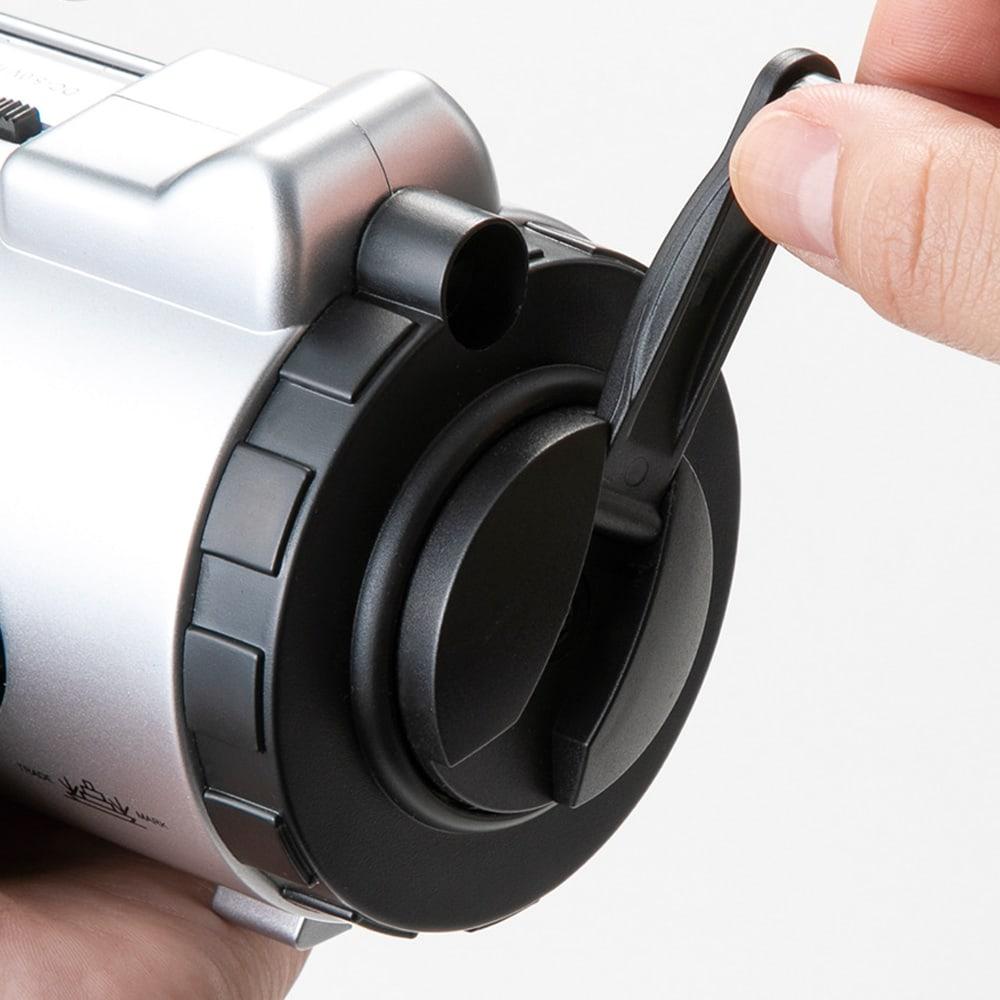 アイフォン充電対応防災ラジオライト 手回し式ダイナモ発電。