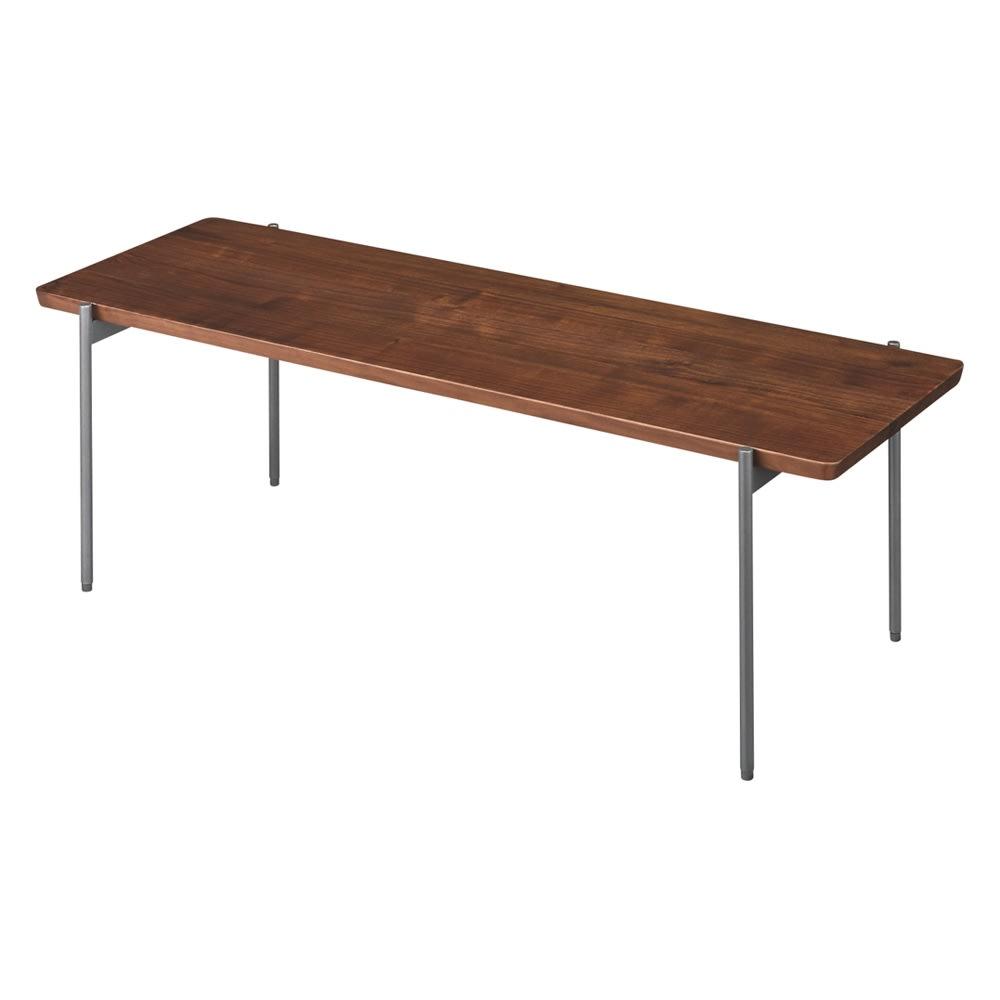リクト天然木テーブル センターテーブル ウォルナット 761805