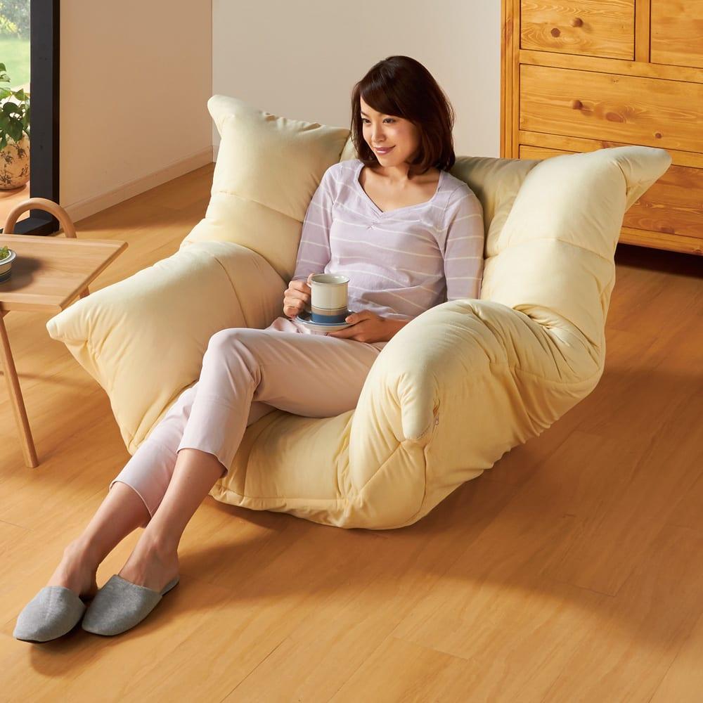 マルチリクライニング コンパクトソファ(座椅子) スタンダードタイプ 762017