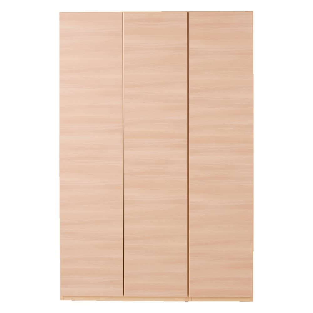 奥行44cm 生活感を隠すリビング壁面収納シリーズ 収納庫 扉タイプ 幅120cm (イ)ナチュラル