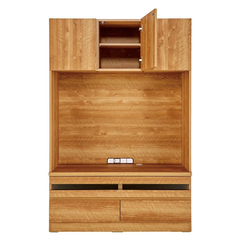 天然木調 リビング壁面収納シリーズ テレビ台 ミドルタイプ 幅121cm 762911