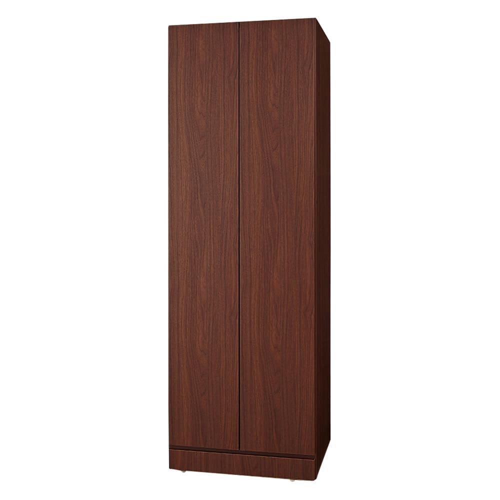 システム壁面ワードローブ 棚タイプ・幅60cm (ウ)ブラウン