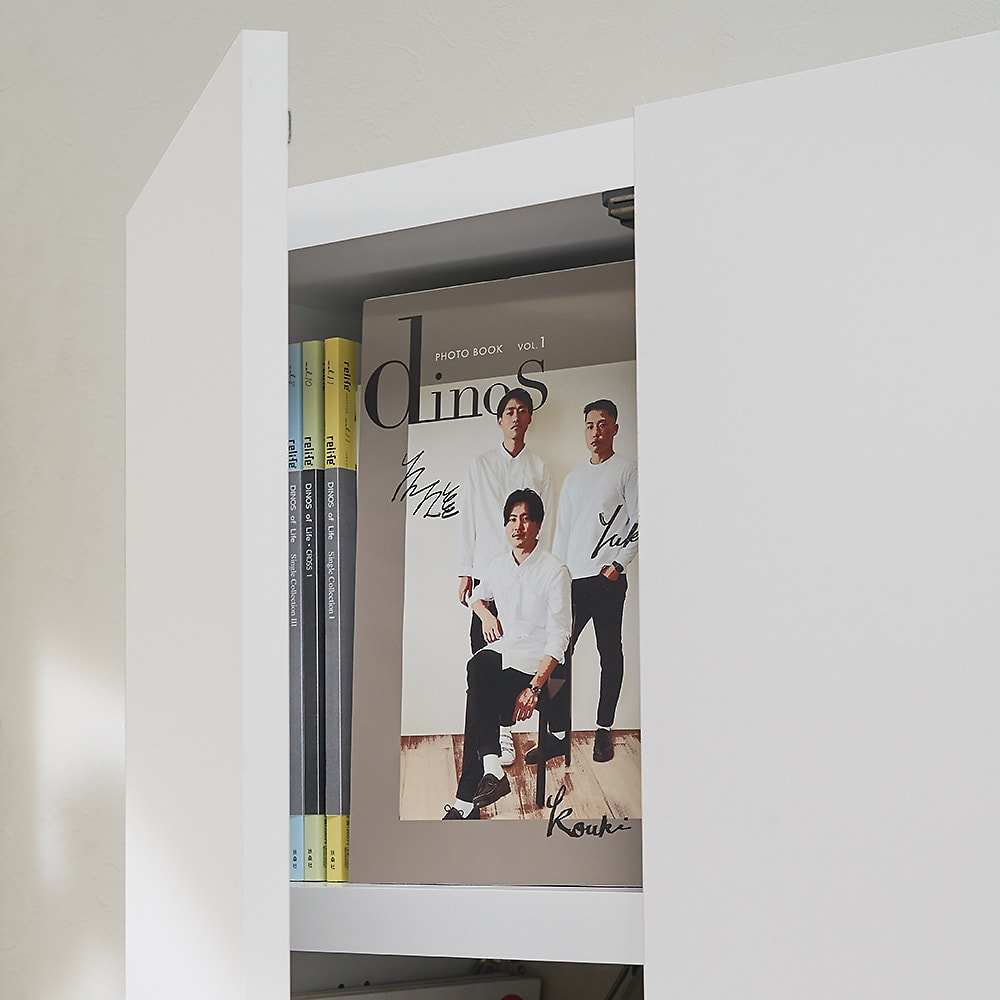 想いを集める 推し活グッズ収納庫  扉 ロー 幅60cm 普段は扉で埃から推しを守って。