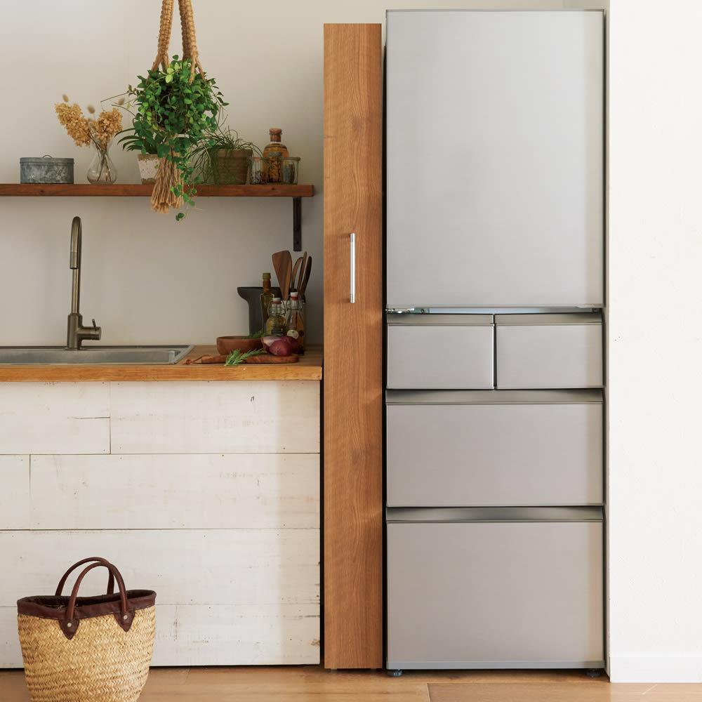 組立不要!52サイズ・3色の156タイプから選べる頑丈すき間ワゴン 幅24奥行55cm 冷蔵庫横の中途半端なすき間にもジャストフィット。