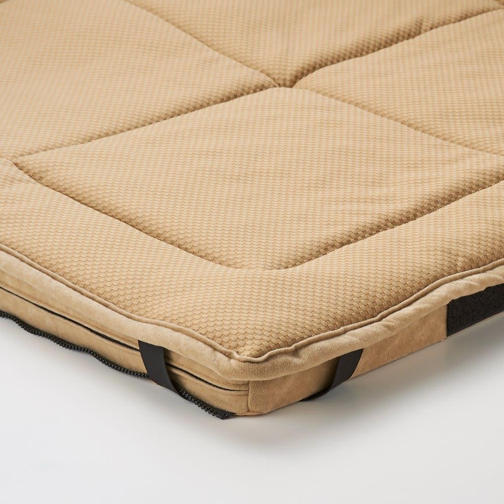 包まれる幸せのごろ寝ソファ 夏用サラサラ替えパッド 小ソファ用 ソファの敷きパッドと簡単に付け替えOK。