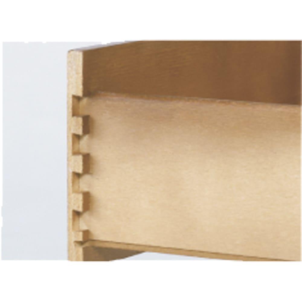 イタリア製象がん収納家具 テレビボード幅87cm 引き出しはアリ組仕様の丈夫な作りです。