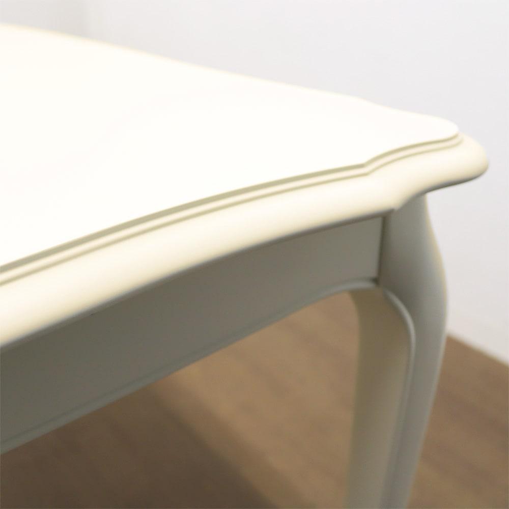 BLANC/ブランエレガントラインシリーズ ダイニングテーブル・幅135cm