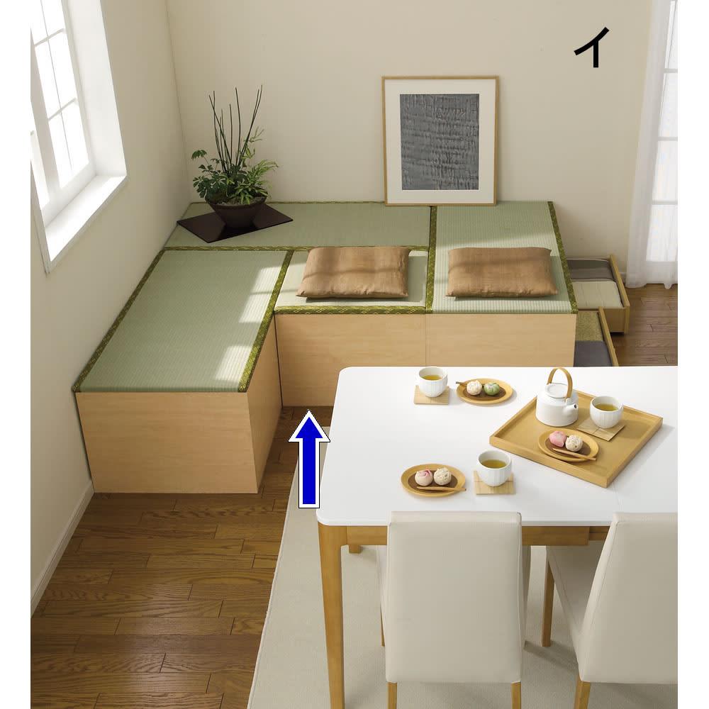 ユニット畳シリーズ 半畳 高さ45cm