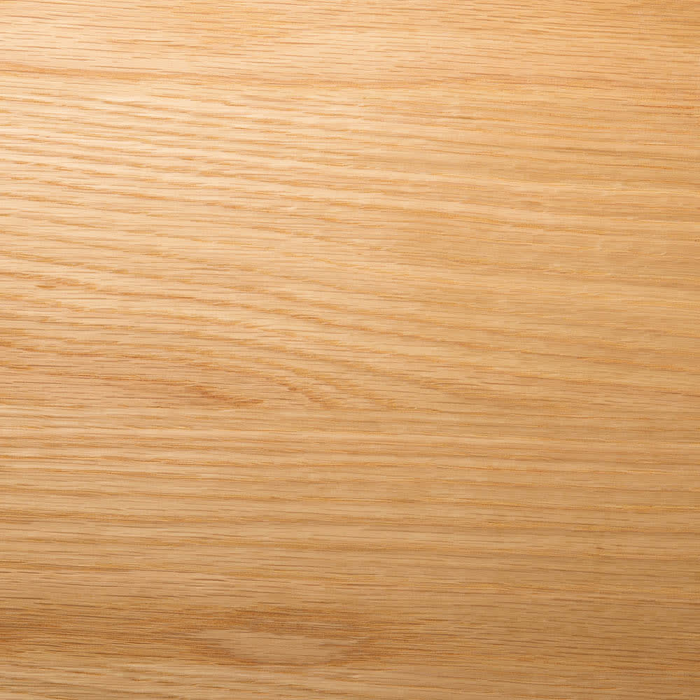 オークカウンター下収納庫 奥行22高さ70cm 引き戸・幅120cm 木目がきれいなオーク突板を前板に使用。