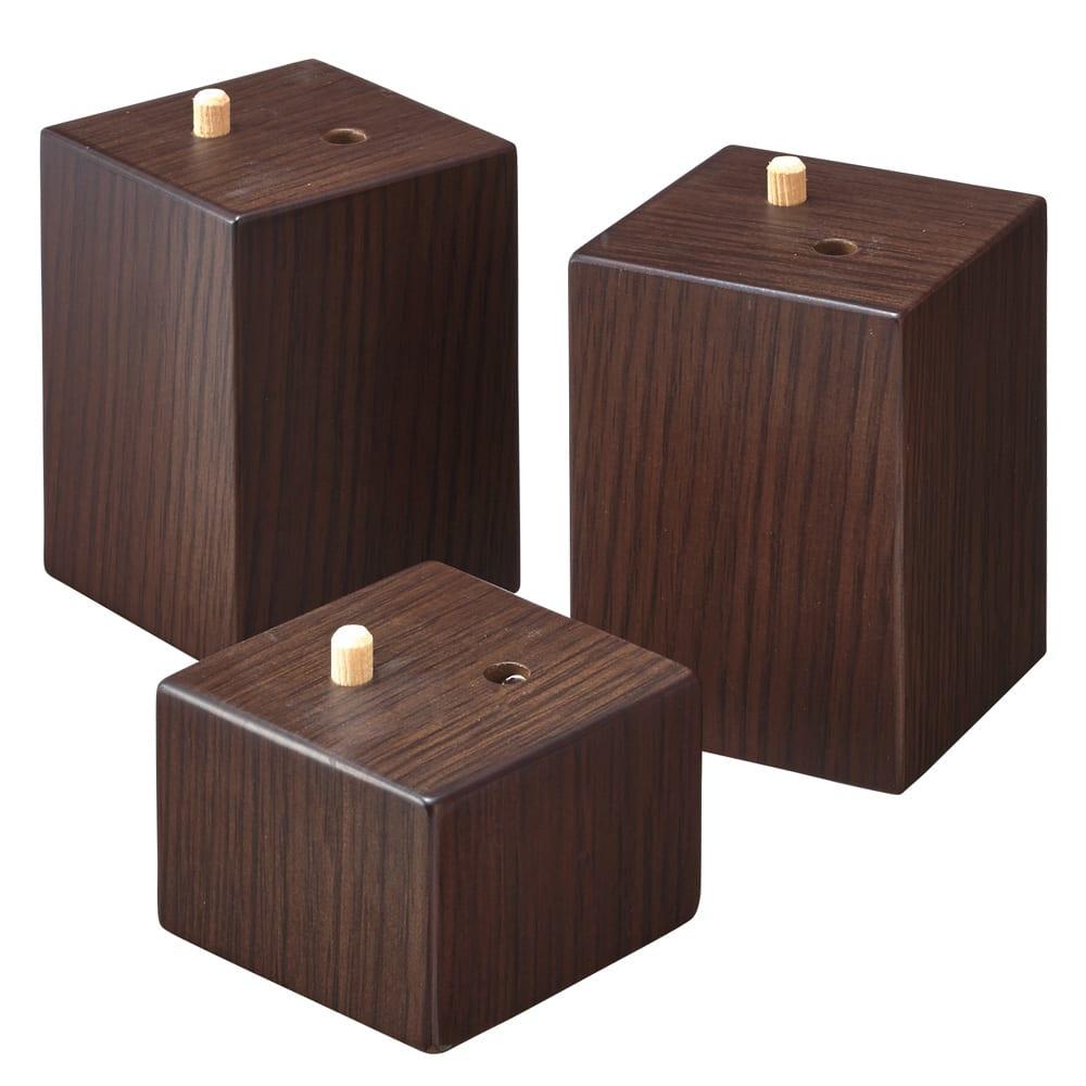 【長方形・小】幅90奥行60cm ダイニングこたつテーブル【高さ調節できます】 付属の継ぎ脚で高さ調節できます。