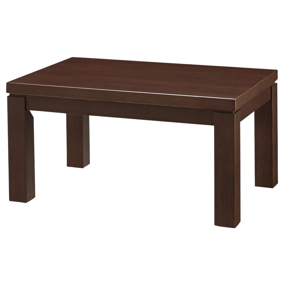 【長方形・小】幅90奥行60cm ダイニングこたつテーブル【高さ調節できます】 最小高さ45cm