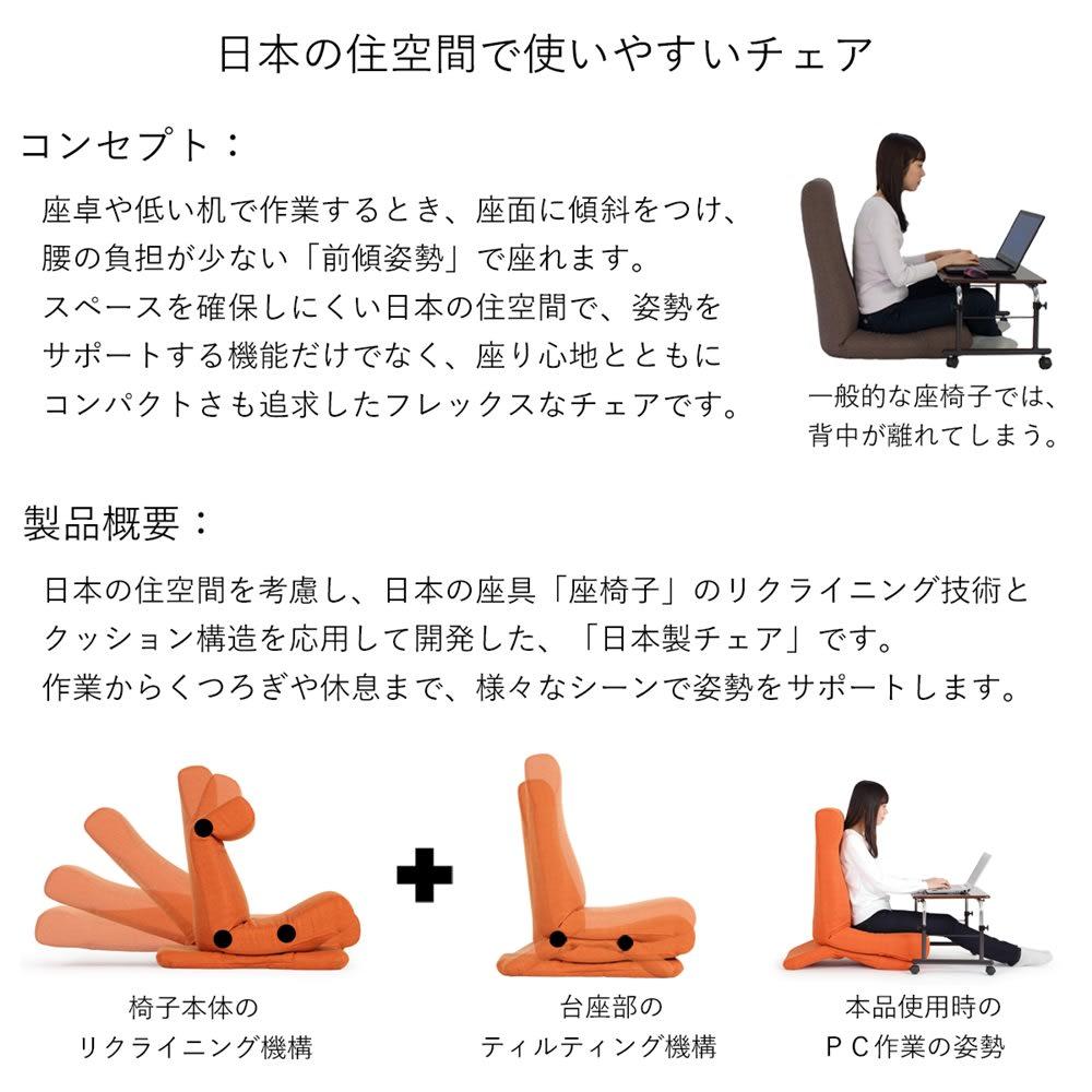 GOOD DESIGN受賞 ZAGUN/ザグーン フレックスチェア