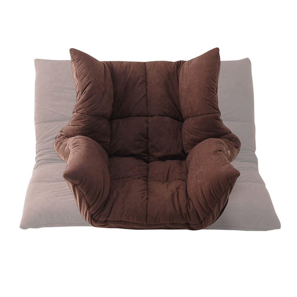 マルチリクライニング コンパクトソファ(座椅子) スタンダードタイプ 肘部のリクライニングを調整すれば座椅子からソファーまでお好みの仕様に。来客時や気分に合わせて変えてみては!?