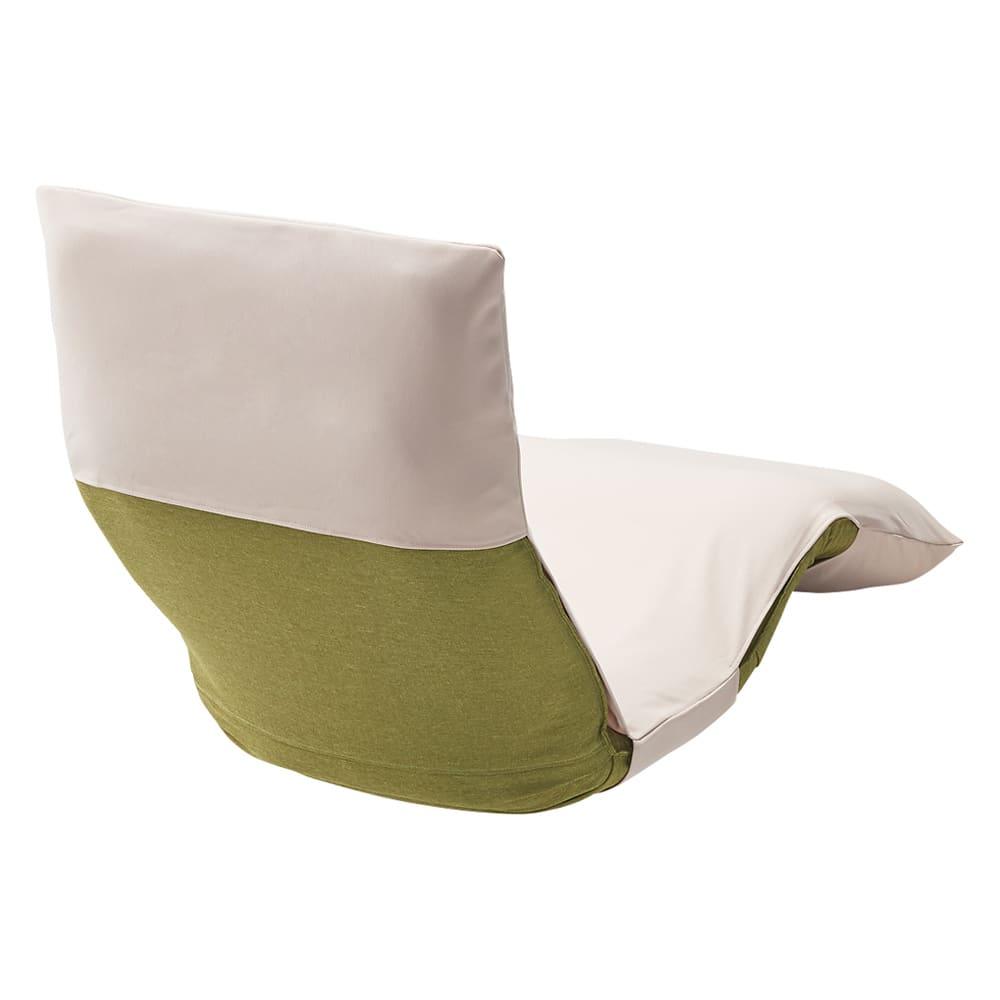 産学共同研究から生まれたネオボディサポートチェアII  幅57cm専用洗えるカバー 使用イメージ(イ)ベージュ