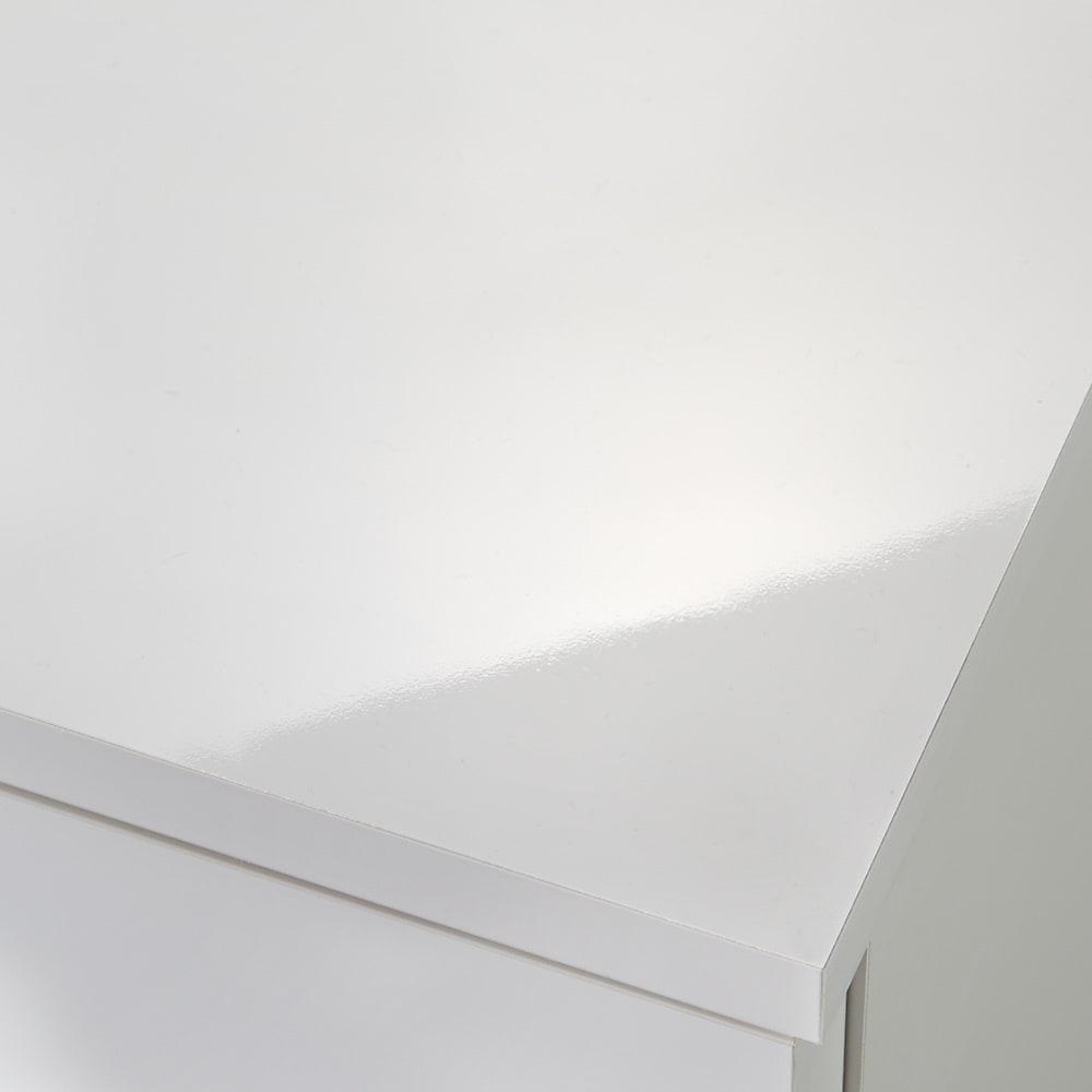 ラインスタイルハイタイプテレビ台シリーズ チェスト・幅45cm (イ)ホワイト