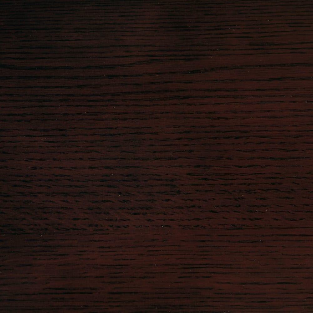 オーク材アールデザインリビングシリーズ テレビ台ハイ 幅120cm 高級感があり落ち着いた印象の(イ)ダークブラウン