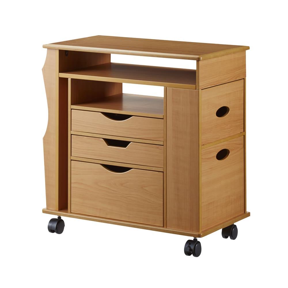 家具 収納 小物収納 収納ボックス 収納ケース リビングまわりの小物がスッキリ片付く快適ワゴン 591217