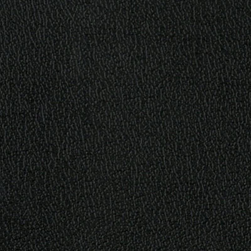 フェイクレザーチェア ブラックの合成皮革なので、水や汚れがついてもさっとひとふきでお手入れが簡単。