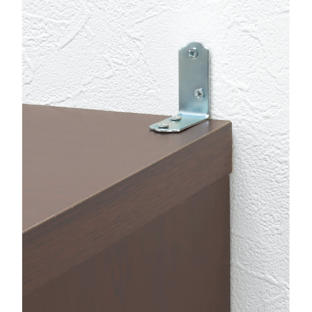 頑丈棚板がっちり書棚(頑丈本棚) ミドルタイプ 幅50cm 転倒防止金具付きで安心。