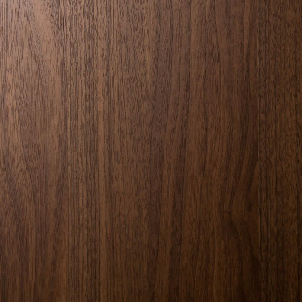 システム壁面ワードローブ ハンガー&引き出し・幅60cm (ウ)ブラウン