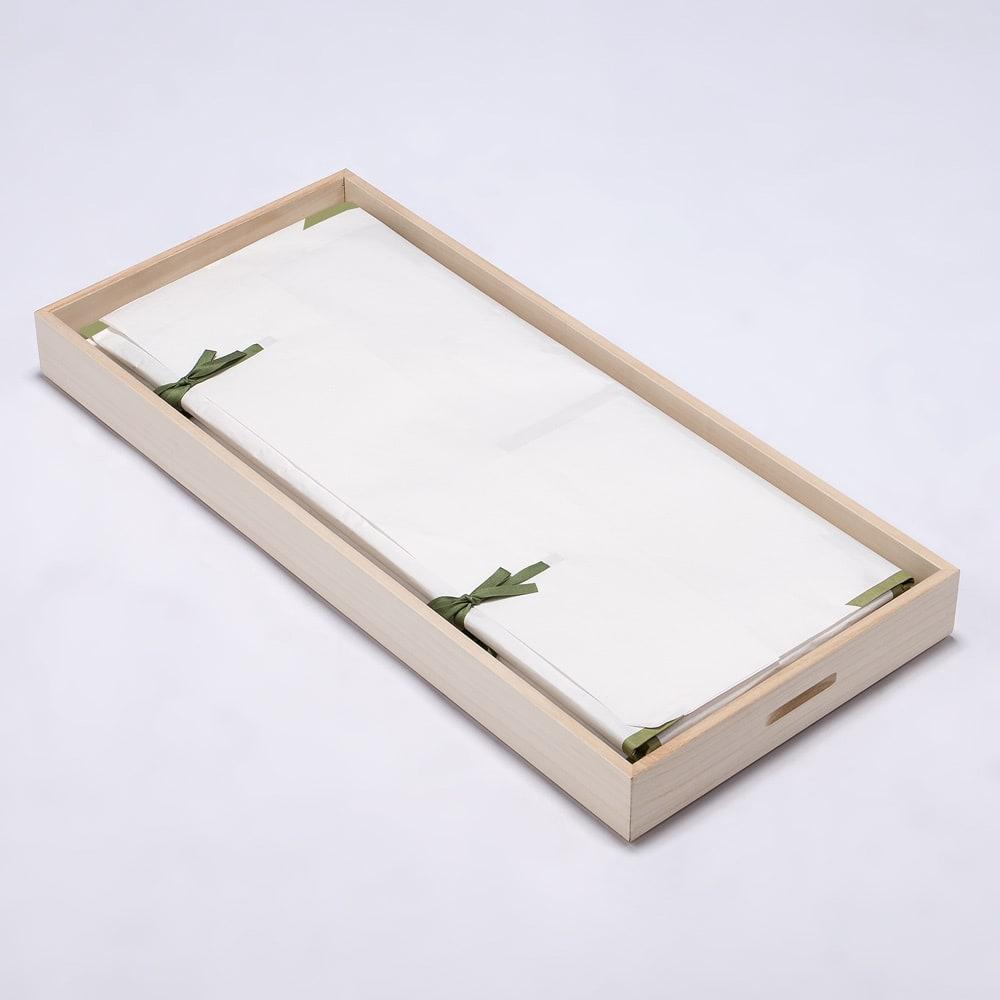 【ローチェスト】総桐衣装ケース 幅95.5cmタイプ 3段(浅2深1) たとう紙に包んだ着物の収納にぴったりです。