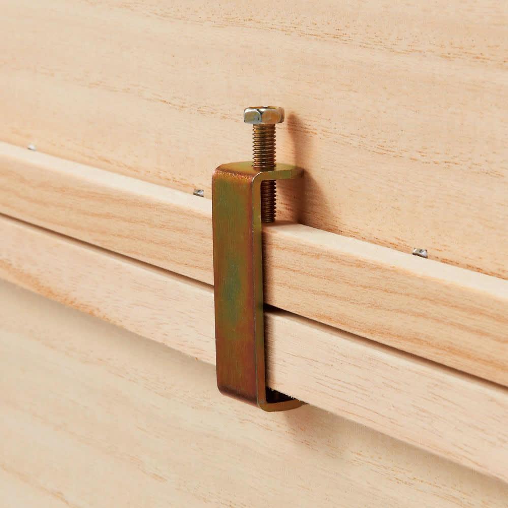 ウォークインクローゼット総桐着物収納シリーズ 引き出し浅4段・高さ51.5cm 3段まで重ねて使えます。(付属の連結金具で裏側から固定)