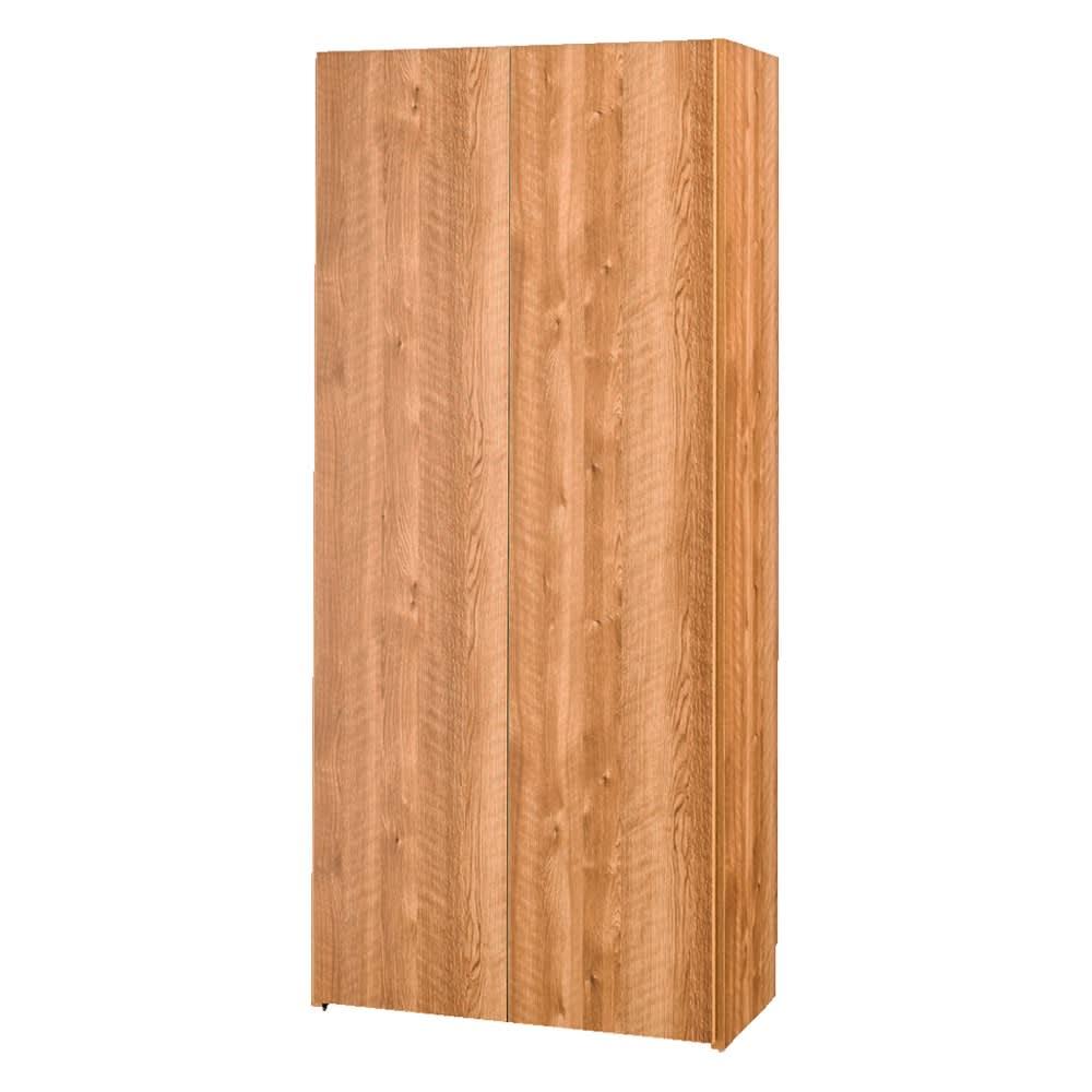 エントランス納戸シューズボックス 棚のみ 幅80cm (ア)ブラウン
