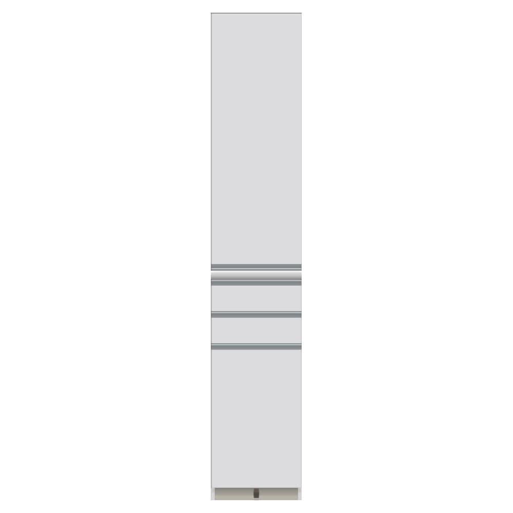 家電が使いやすいハイカウンター奥行45cm 食器棚高さ214cm幅40cm/パモウナCQ-S400KL CQ-S400KR お届けの商品はこちらになります。