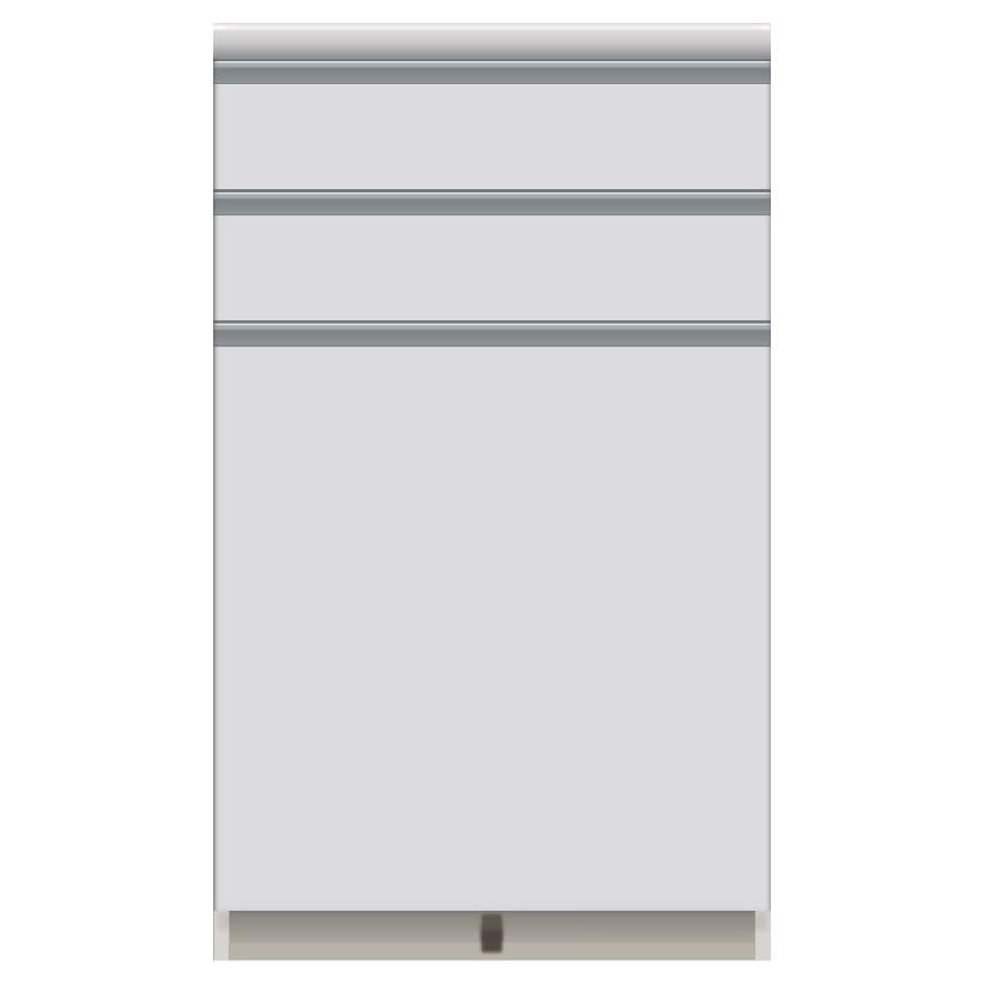 家電が使いやすいハイカウンター奥行50cm キッチンカウンター高さ101cm幅60cm/パモウナVQ-600K 下台 お届けの商品はこちらになります。