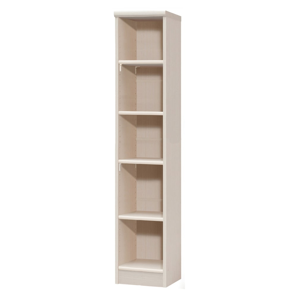 色とサイズが選べるオープン本棚 幅28.5cm高さ150cm 商品イメージ:(ア)ライトナチュラル