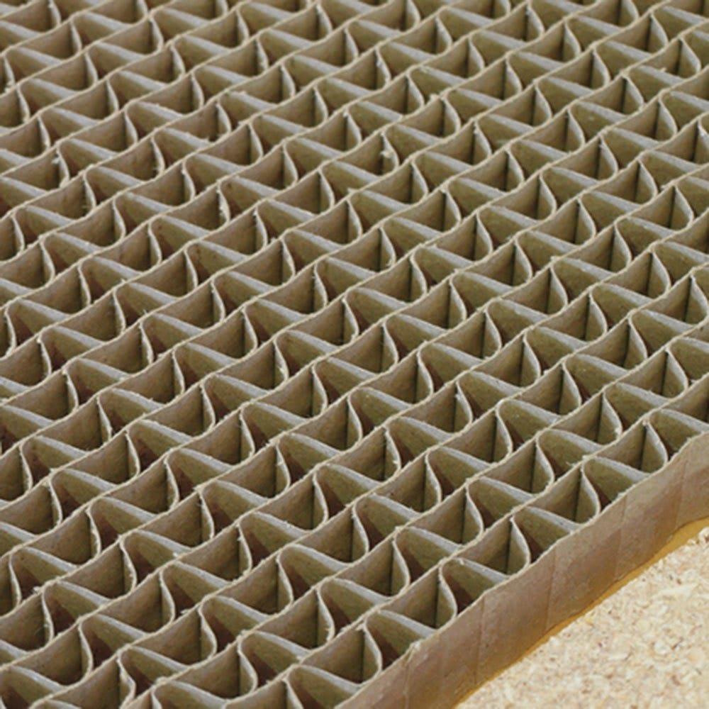 幅1cm刻みのサイズオーダーデスク 幅60~180cm奥行30cm高さ70cm 天板内部には丈夫なハニカム構造を採用。