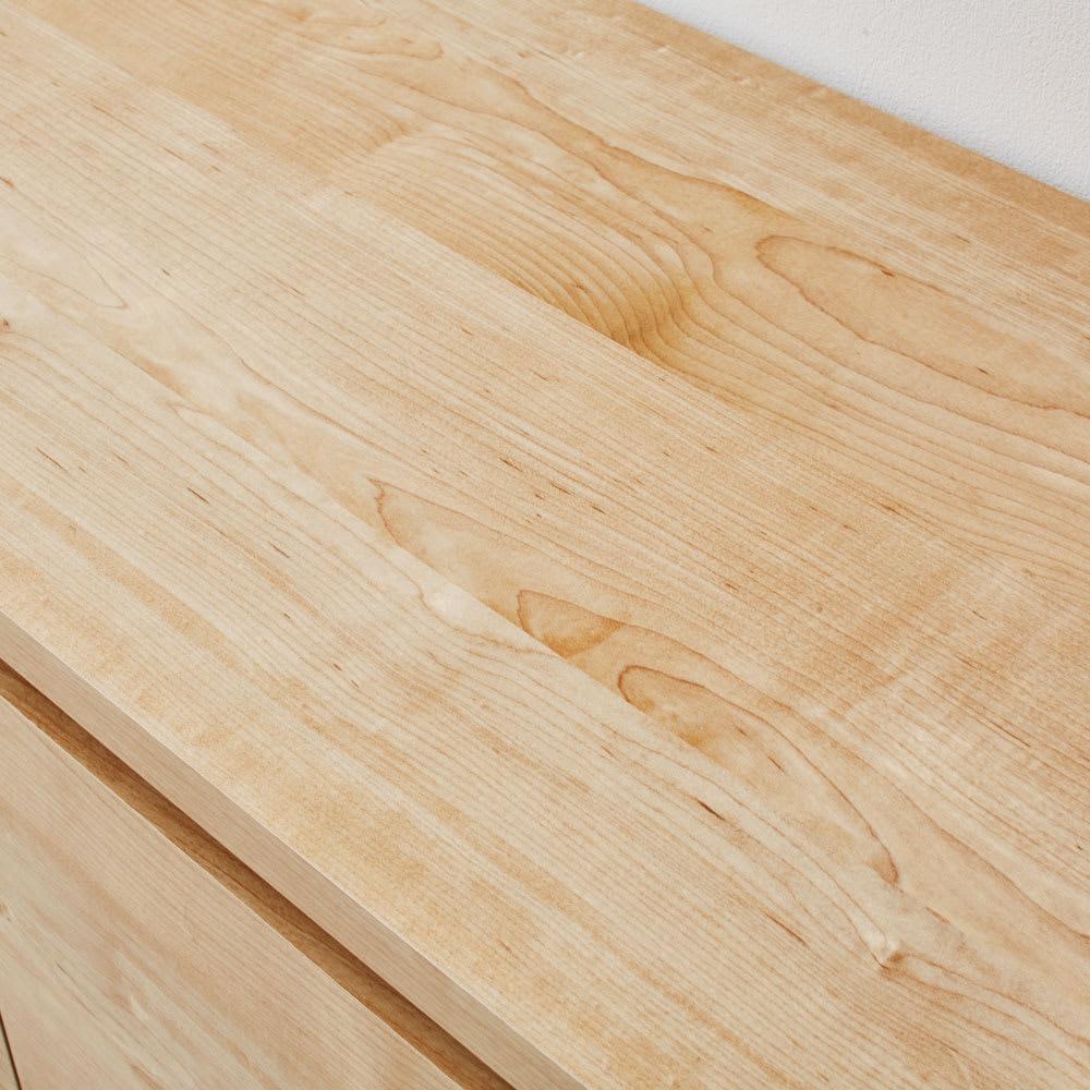 天然木調ベンチ 幅117cm(2人用) 天板は強化化粧板です。