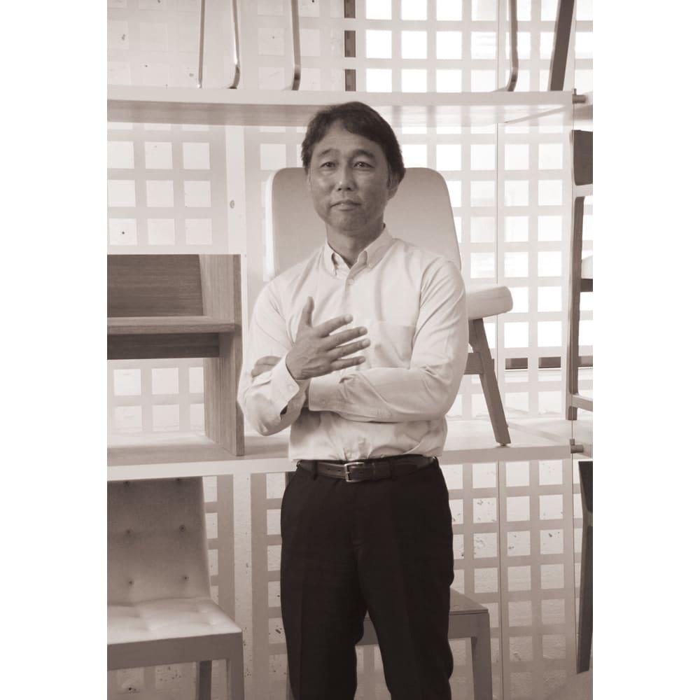 匠の腰楽座椅子プライムシート 【家具デザイナー】辻村久信さん